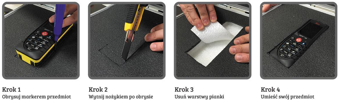 KYOTO Tool Foam - pianka warstwowa